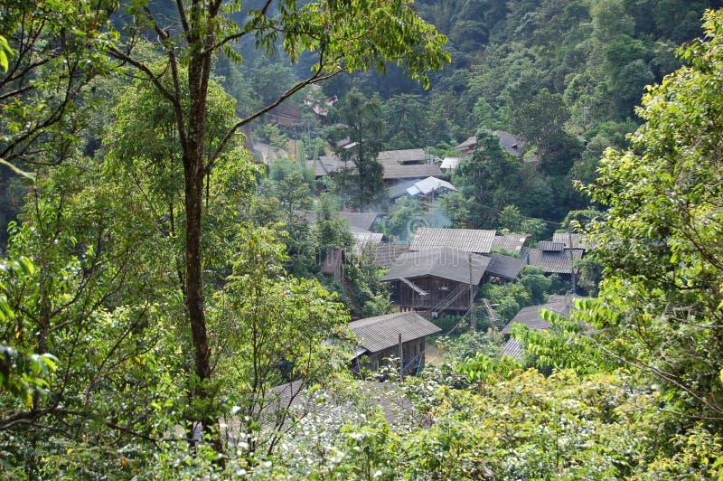 wioska leśna zdjęcia royalty free