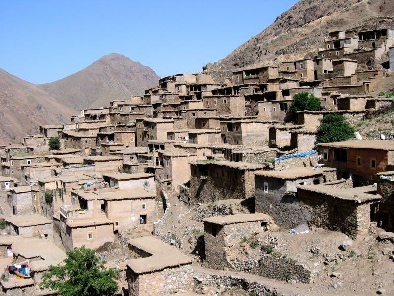wioska morocco obraz royalty free