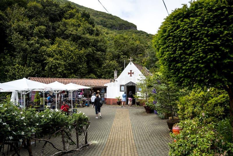 Wioska Ribeiro Frio na wyspie madera Portugalia obraz royalty free