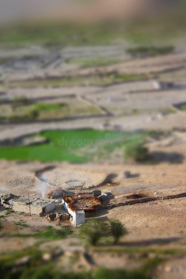 wioska tybetańskiej fotografia royalty free