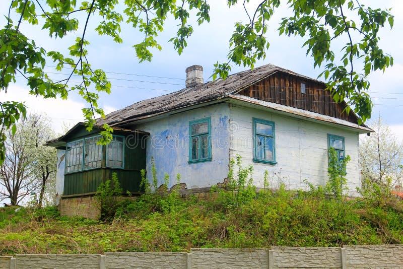 Wioska ukraiński dom obrazy royalty free
