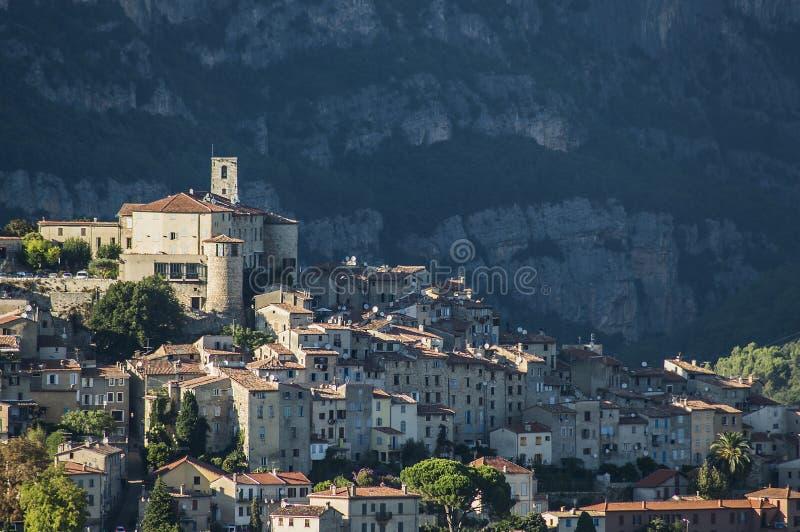 Wioska w Provence Francja obraz stock