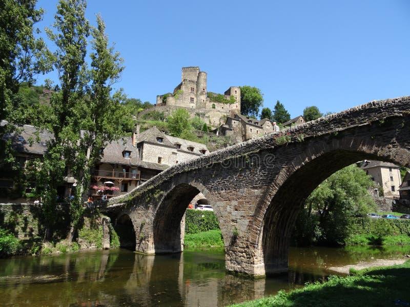 Wioska w Tarn Francja obrazy royalty free