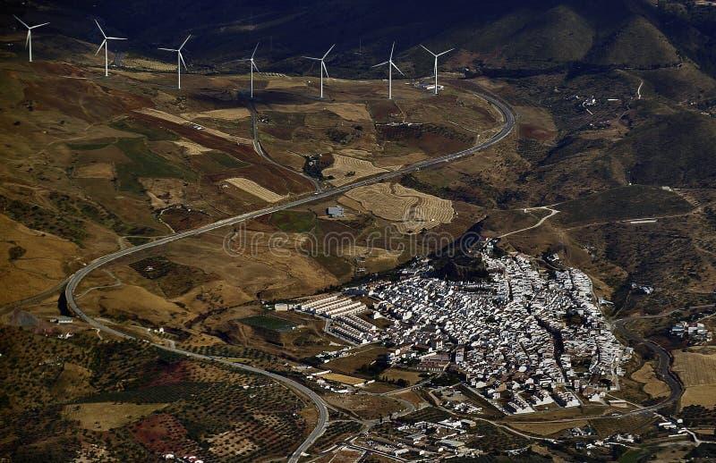 wioska wiatr zdjęcia stock