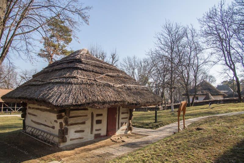 Wioski muzeum, Bucharest (Muzeul Satului) obrazy royalty free