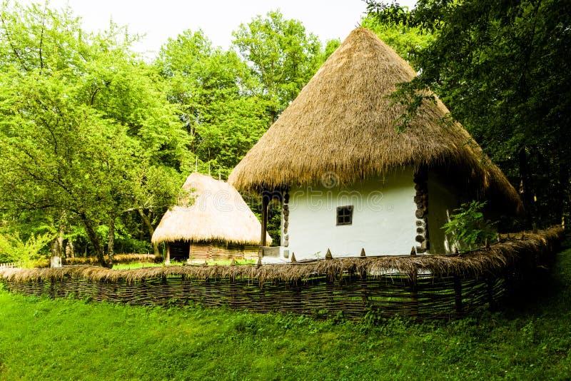 Wioski muzeum, Sibiu obraz royalty free