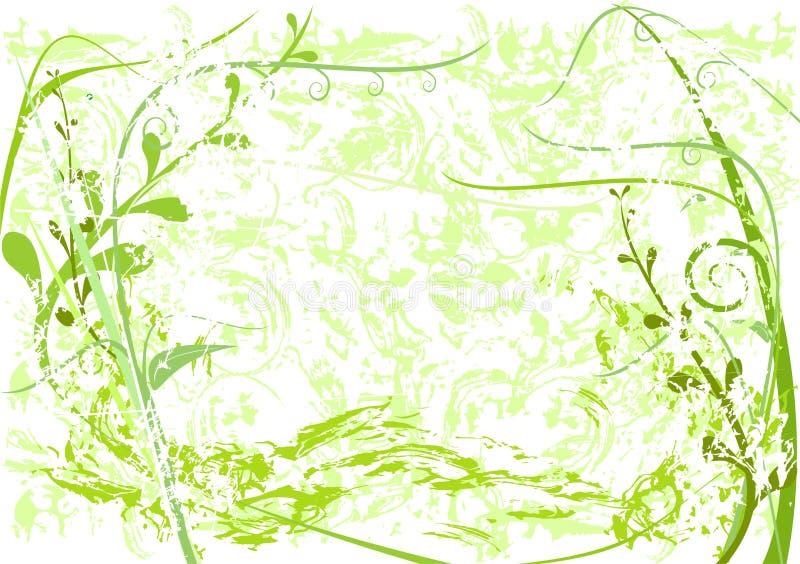 Wiosna abstrakt royalty ilustracja