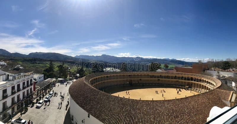 Wiosna czas w Ronda Spain obrazy royalty free