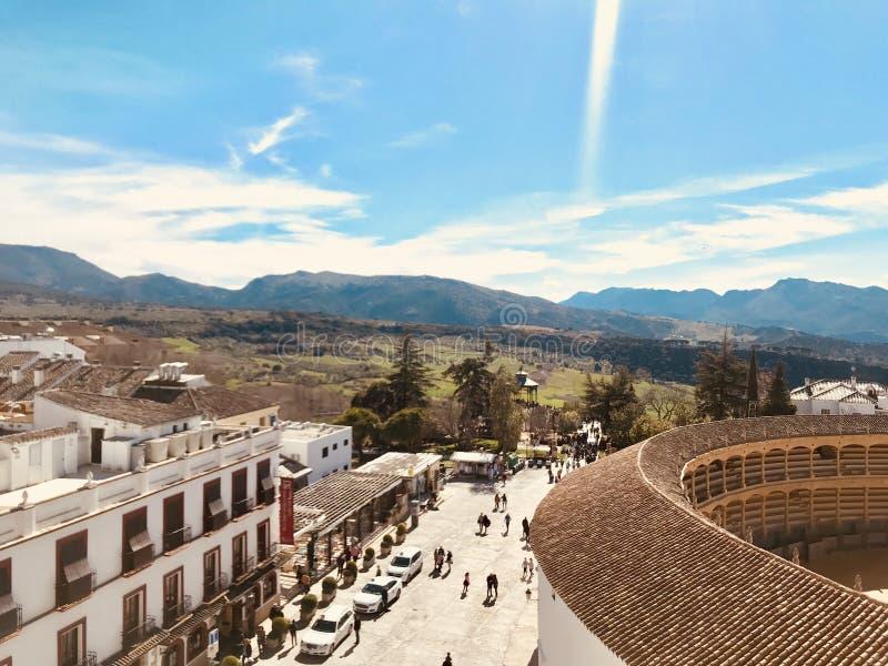 Wiosna czas w Spain Południe Hiszpania obraz stock