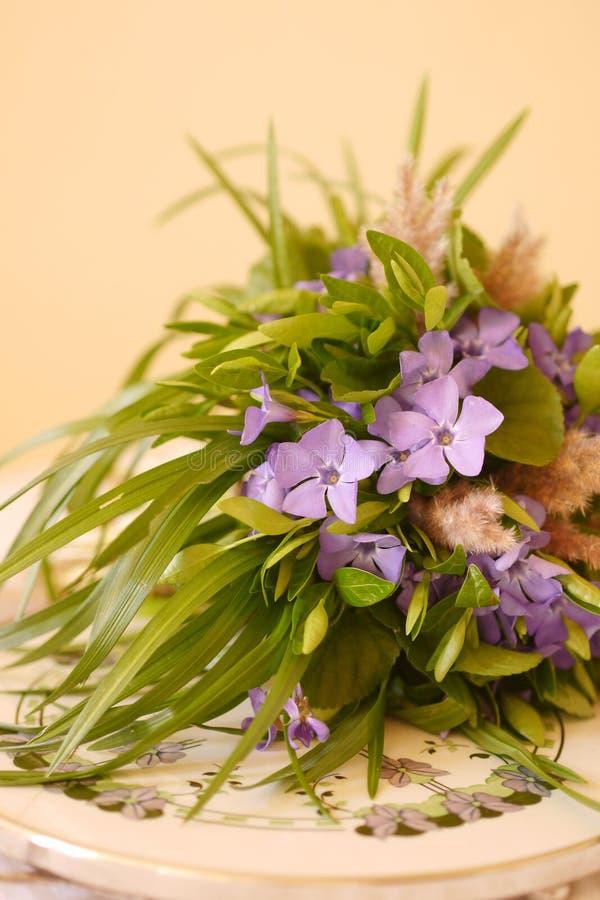 Wiosna dzikiego kwiatu bukiet obraz royalty free