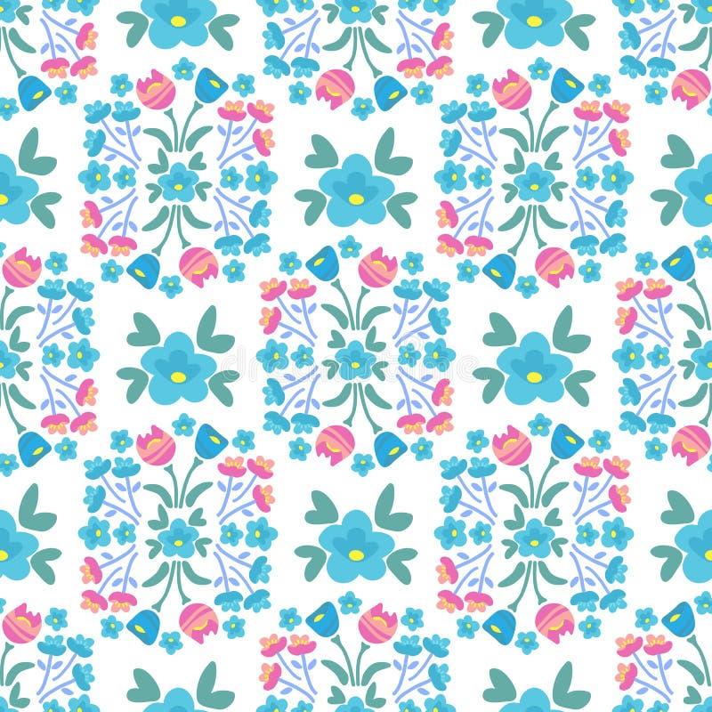 Wiosna flowers-24 ilustracja wektor