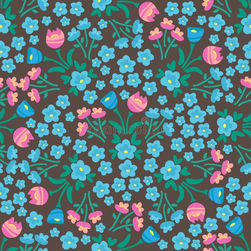 Wiosna flowers-23 ilustracji