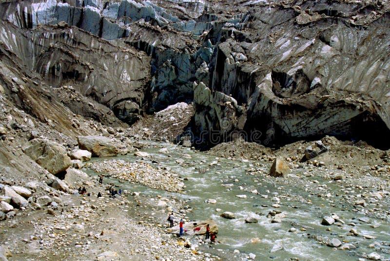 wiosna ganges rzeki zdjęcie royalty free