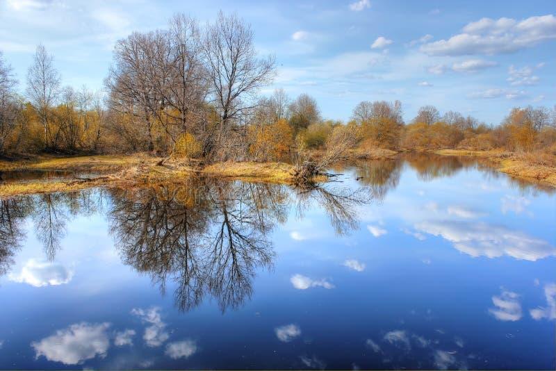 Wiosna krajobraz, Rosja zdjęcie royalty free