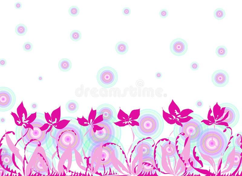 wiosna kwiat royalty ilustracja
