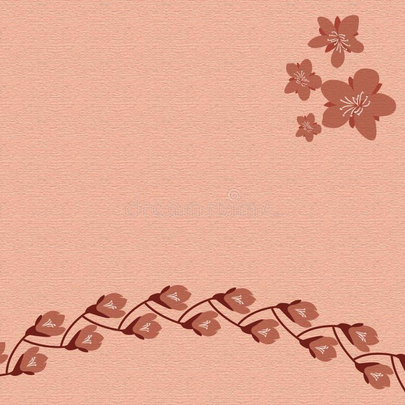 Wiosna materiału wzoru tło ilustracji