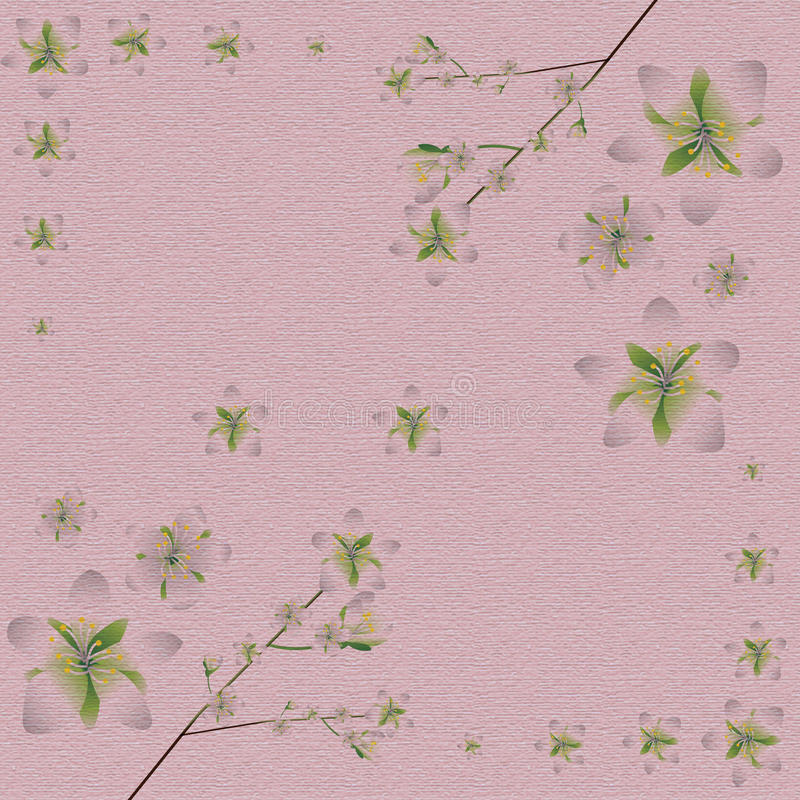 Wiosna materiału wzoru tło royalty ilustracja