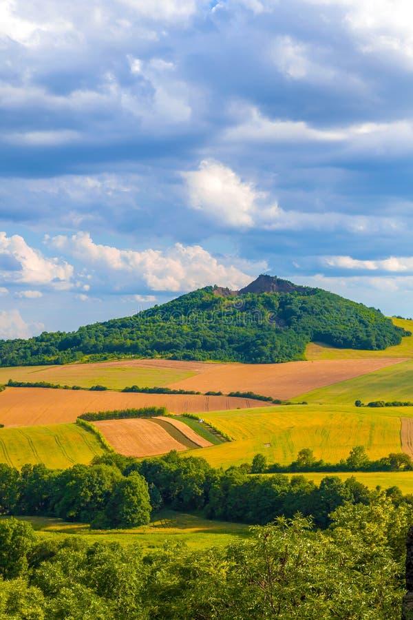 Wiosna piękny krajobraz zdjęcie royalty free