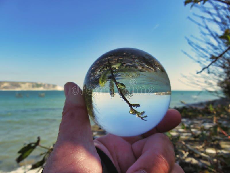Wiosna skakać kryształ zdjęcie royalty free