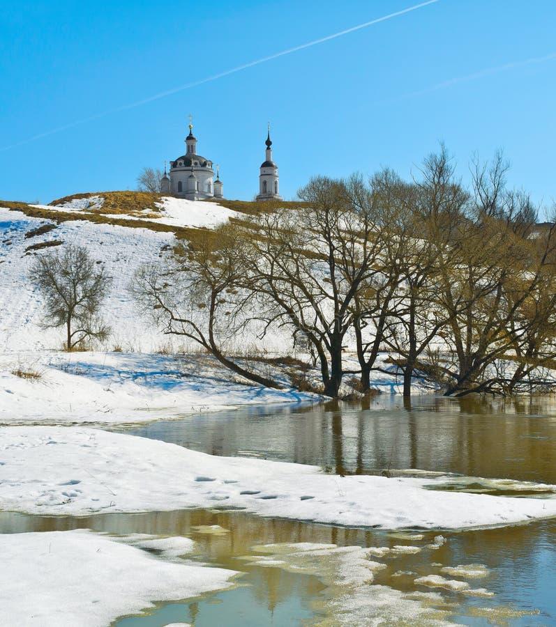 Wiosna w russia zdjęcia stock