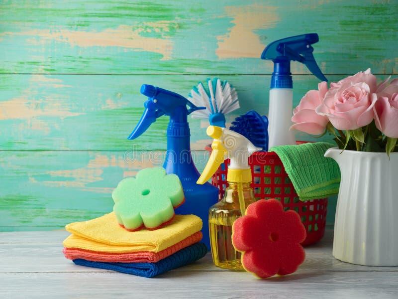 Wiosny cleaning pojęcie obrazy stock