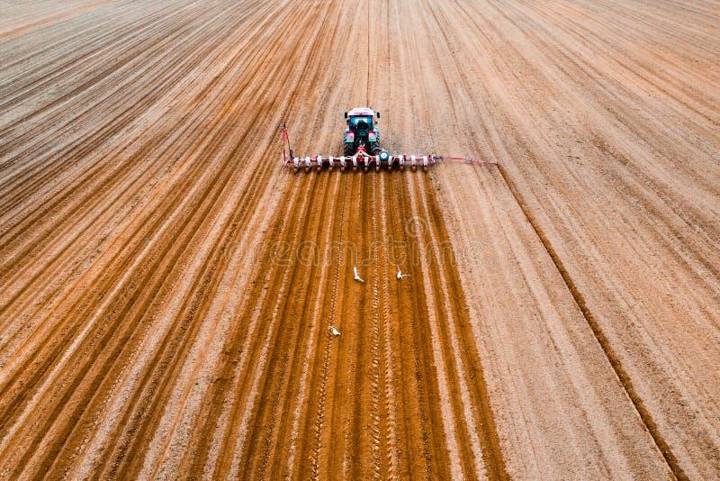 Wiosny rolnicza praca zdjęcie royalty free