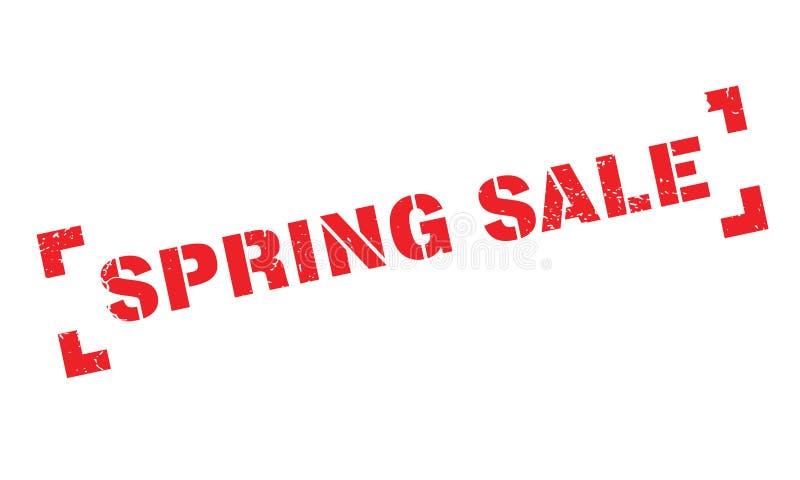 Wiosny sprzedaży pieczątka royalty ilustracja