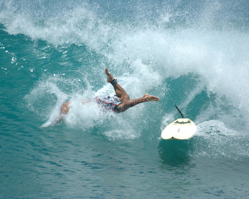 Download Wipeout 4 stock photo. Image of falling, whitewater, wave - 165490