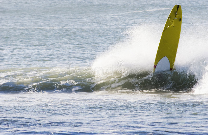 Wipeout di Longboard fotografie stock
