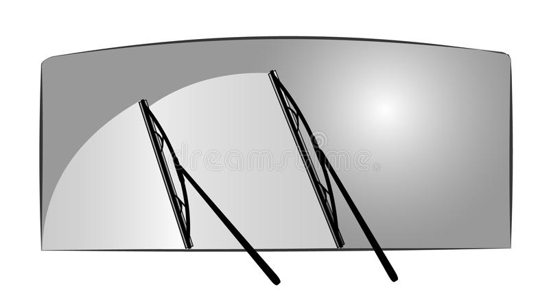 Wipers vector illustration royalty free stock photography