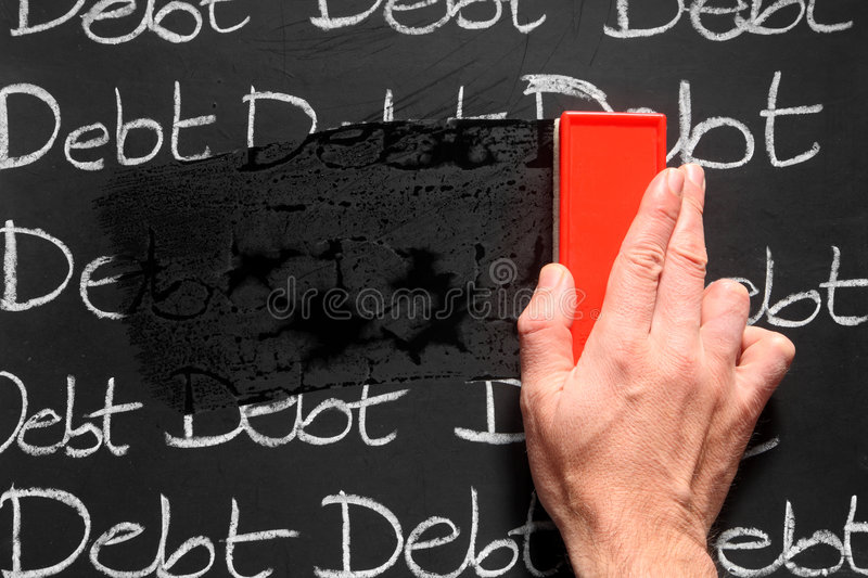 Download Wiping debts away. stock image. Image of damp, person - 3392595