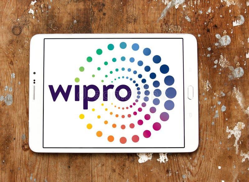 Wipro företagslogo fotografering för bildbyråer