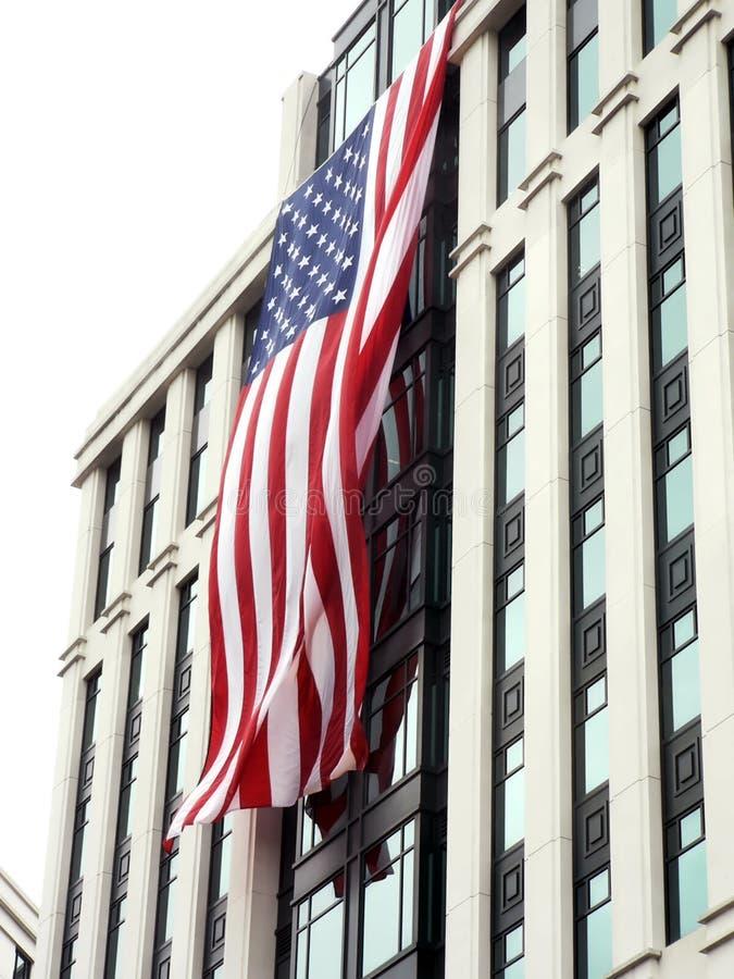 Wir Markierungsfahne - 9-11 Erinnerungstribut 2 lizenzfreie stockfotos