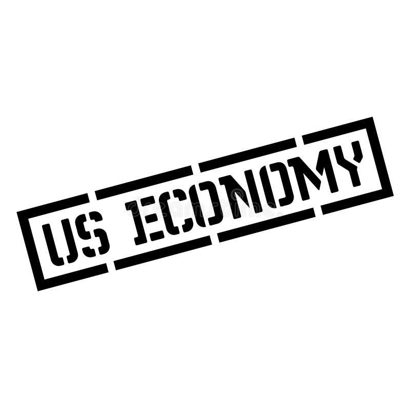 Wir schwarzer Stempel der Wirtschaft vektor abbildung