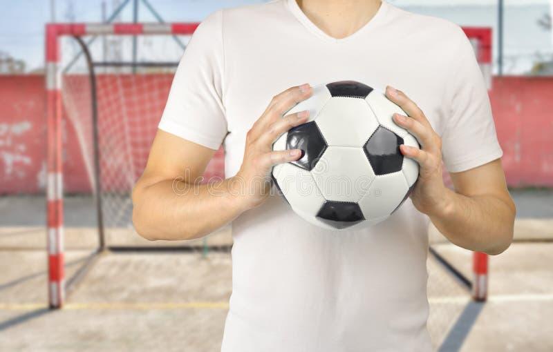 Wir sind Fußball lizenzfreie stockfotos