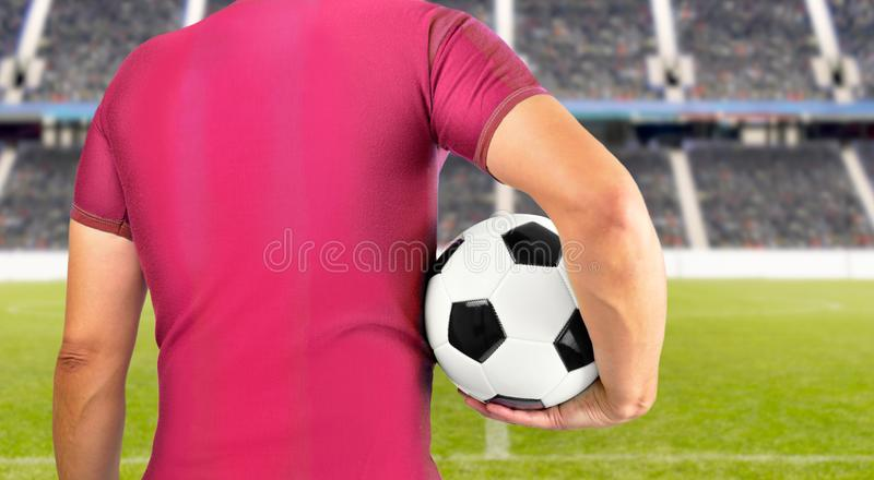 Wir sind Fußball lizenzfreie stockbilder