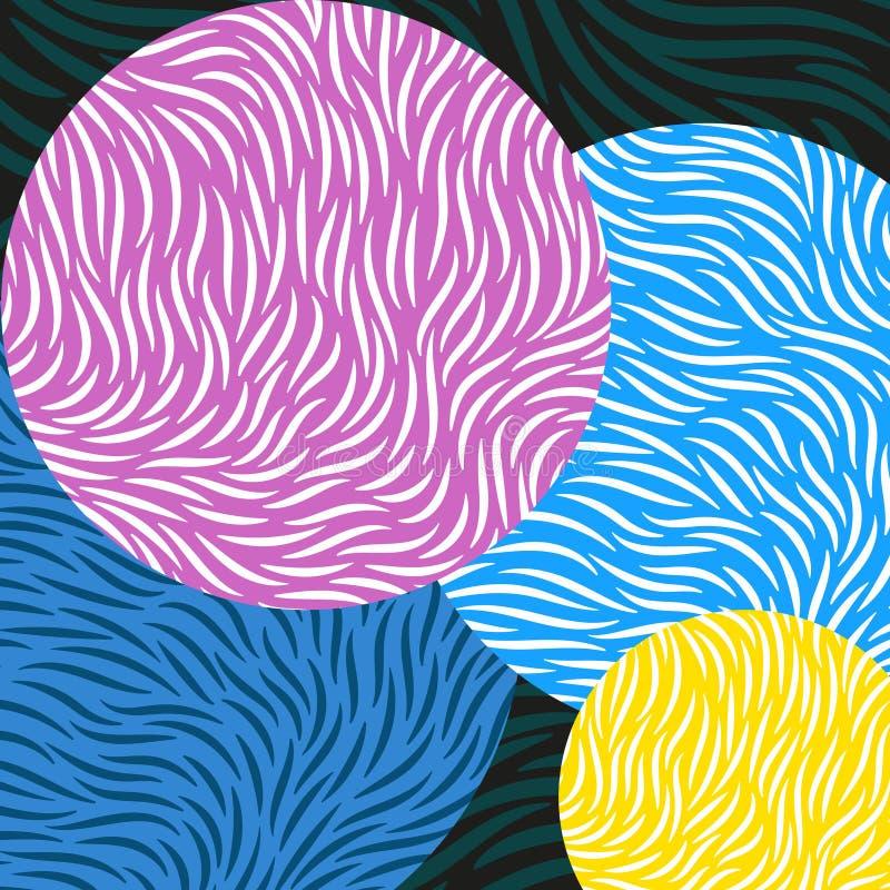 wir tła abstrakcyjne ilustracja wektor
