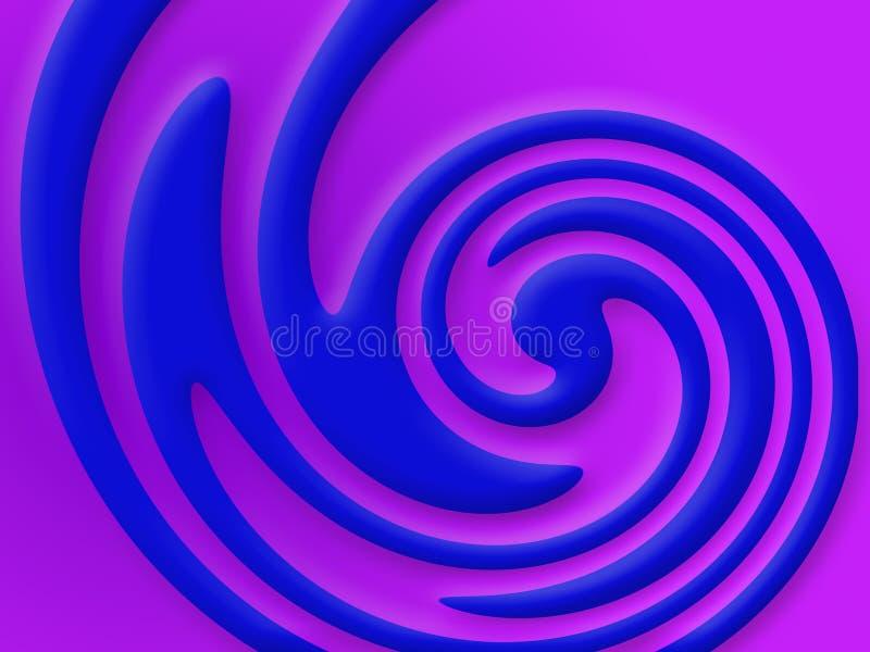 Wirbelnde Farben vektor abbildung