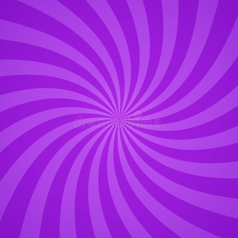 Wirbelnder purpurroter Musterradialhintergrund Auch im corel abgehobenen Betrag stock abbildung