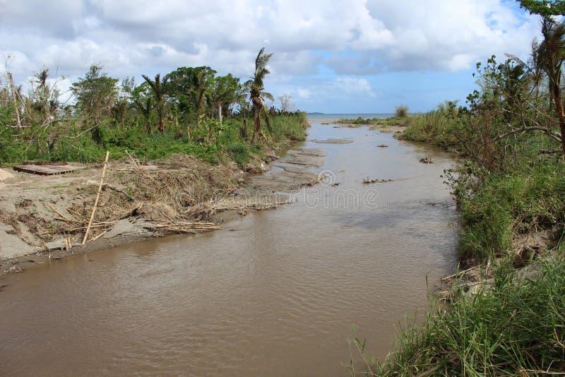 Wirbelsturm-PAM in Vanuatu lizenzfreie stockfotos