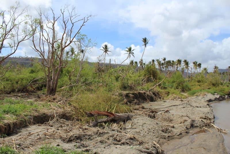 Wirbelsturm-PAM in Vanuatu lizenzfreie stockbilder