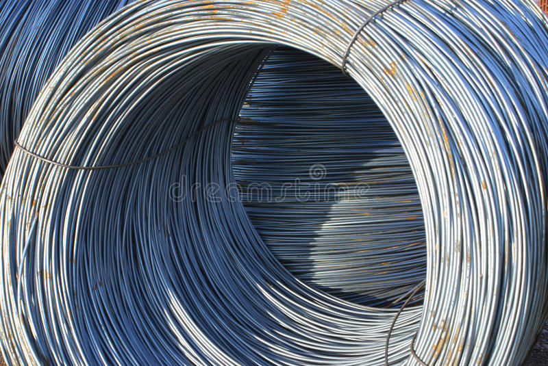 Download Wire. stock image. Image of background, behind, metal - 16260987