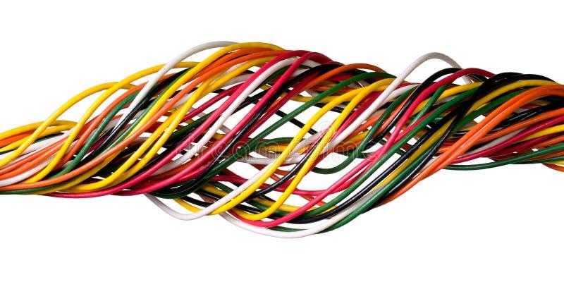 Wire. stock photo