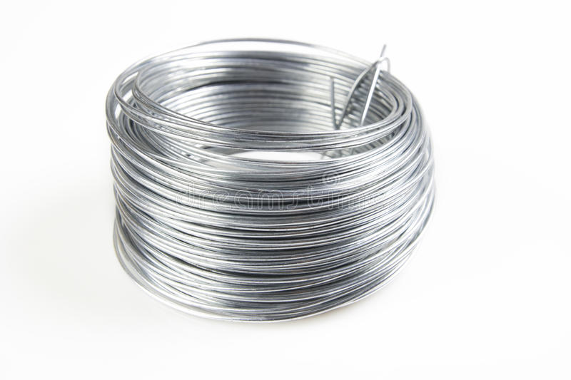 Download Wire coil stock image. Image of material, group, helix - 28648413