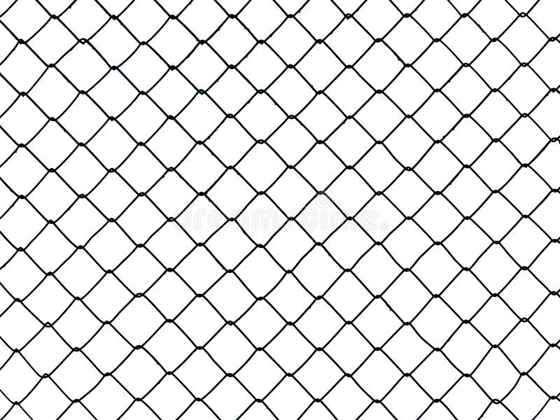 Wire fence royalty free stock photo