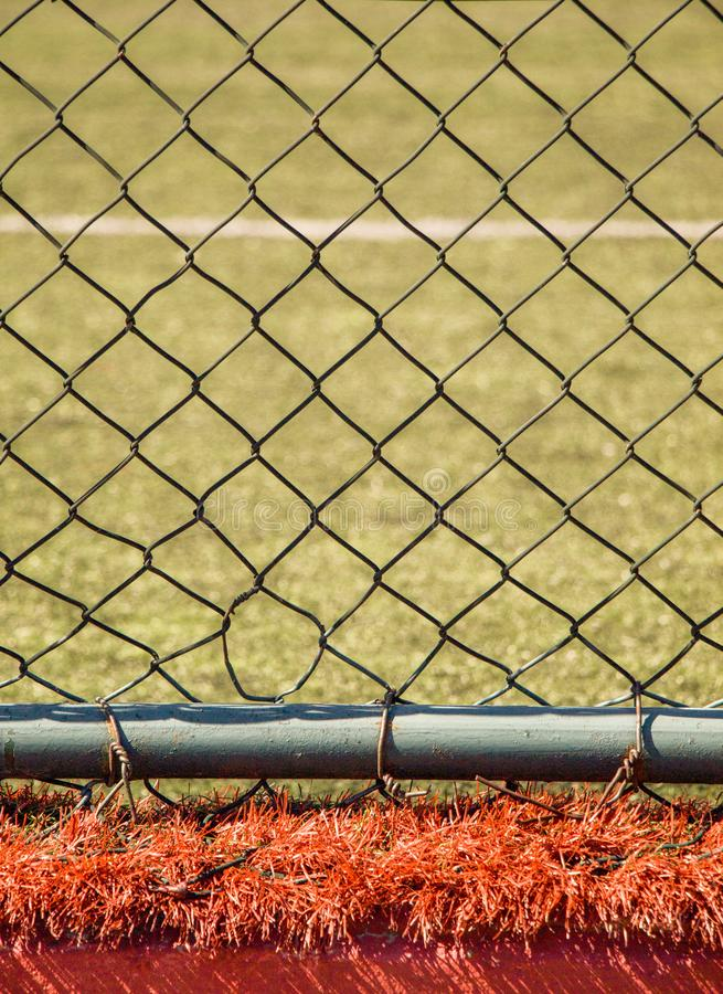 Wire fence for protection purposes of a pproperty. Wire fence used for protection purposes of a pproperty royalty free stock photography