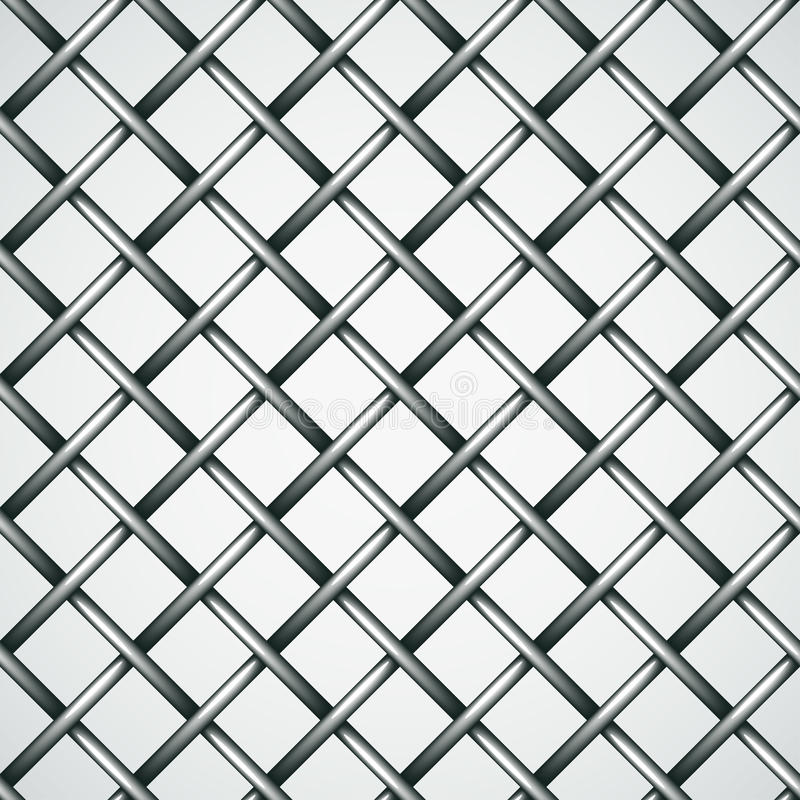 Wire Fence Seamless Background Stock Vector - Illustration of cage ...
