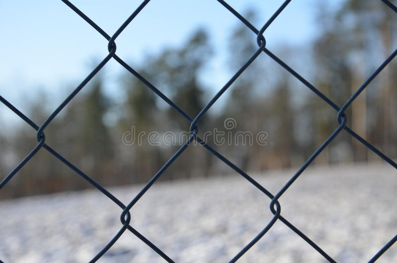Wire fencing mesh stock photography