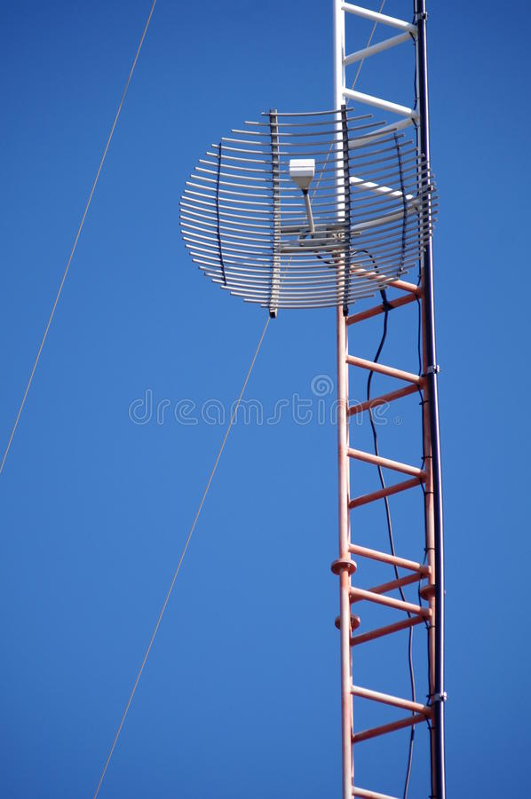 Download Wire grid antenna stock image. Image of broadcast, communication - 23104783