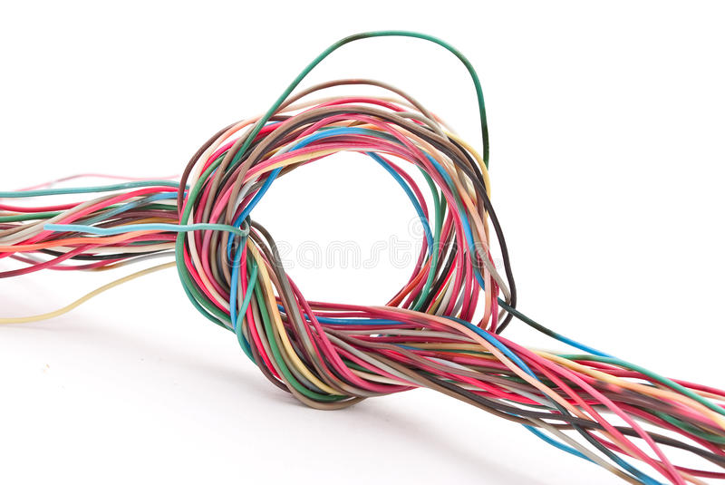 Download Wire knot stock image. Image of wire, knot, naked, cable - 16527057
